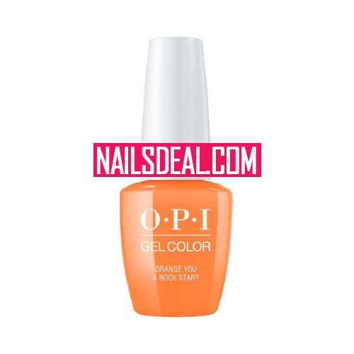 OPI Gel - Orange You a Rock Star? (GLN71)