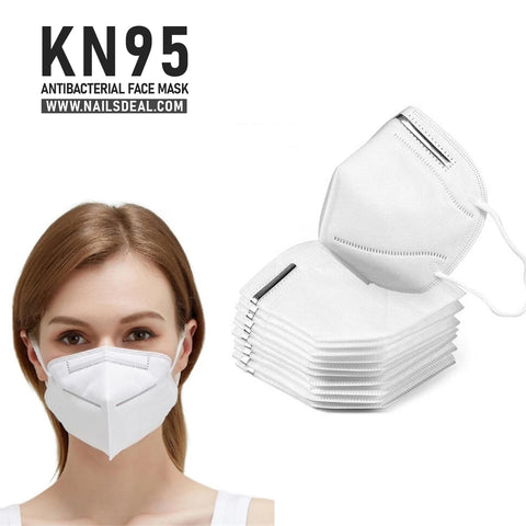 KN95 Safety Masks Dust Face Mask Virus Mesh Mask with Ear Loop