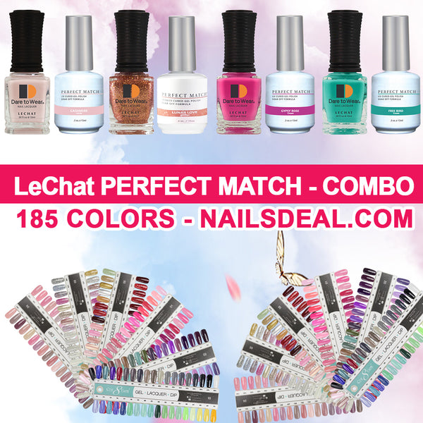 LeChat Perfect Match - (185 colors) - Free Color Chart