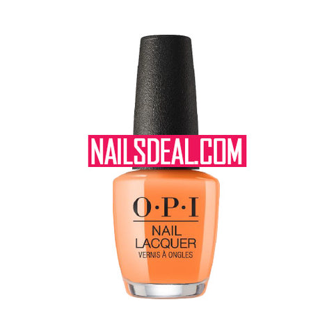OPI Lacquer - Orange You a Rock Star? (NLN71)