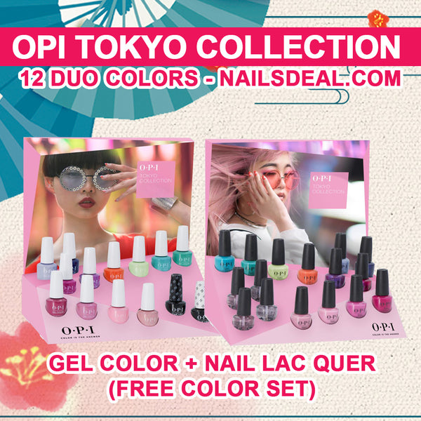 OPI Tokyo Collection Spring 2019 (PRE-ORDER) - Ship by Dec 25, 2018