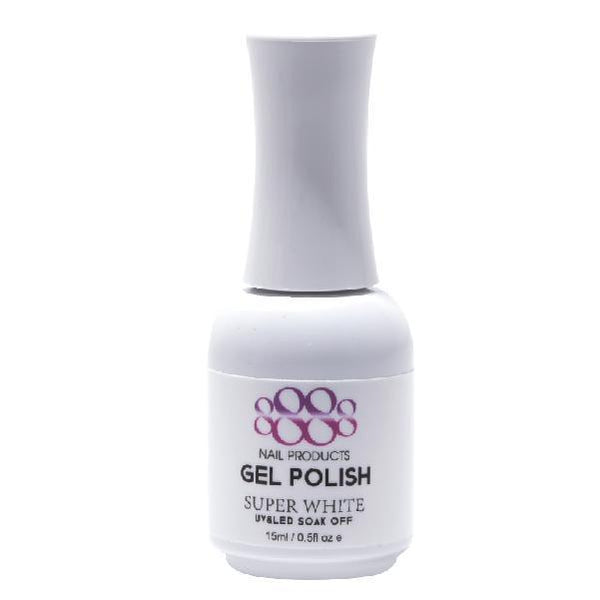 8888 Super White Gel Color 0.5Oz
