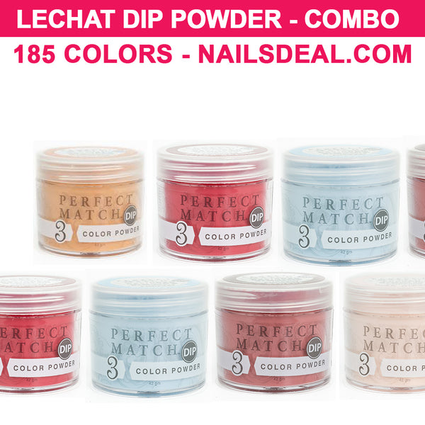 LeChat Perfect Match Dip Powder COMBO - 185 colors