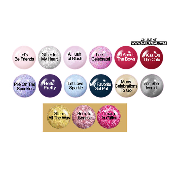 COSMO Dip - Hello Kitty Matching Collection 12 colors (2oz)