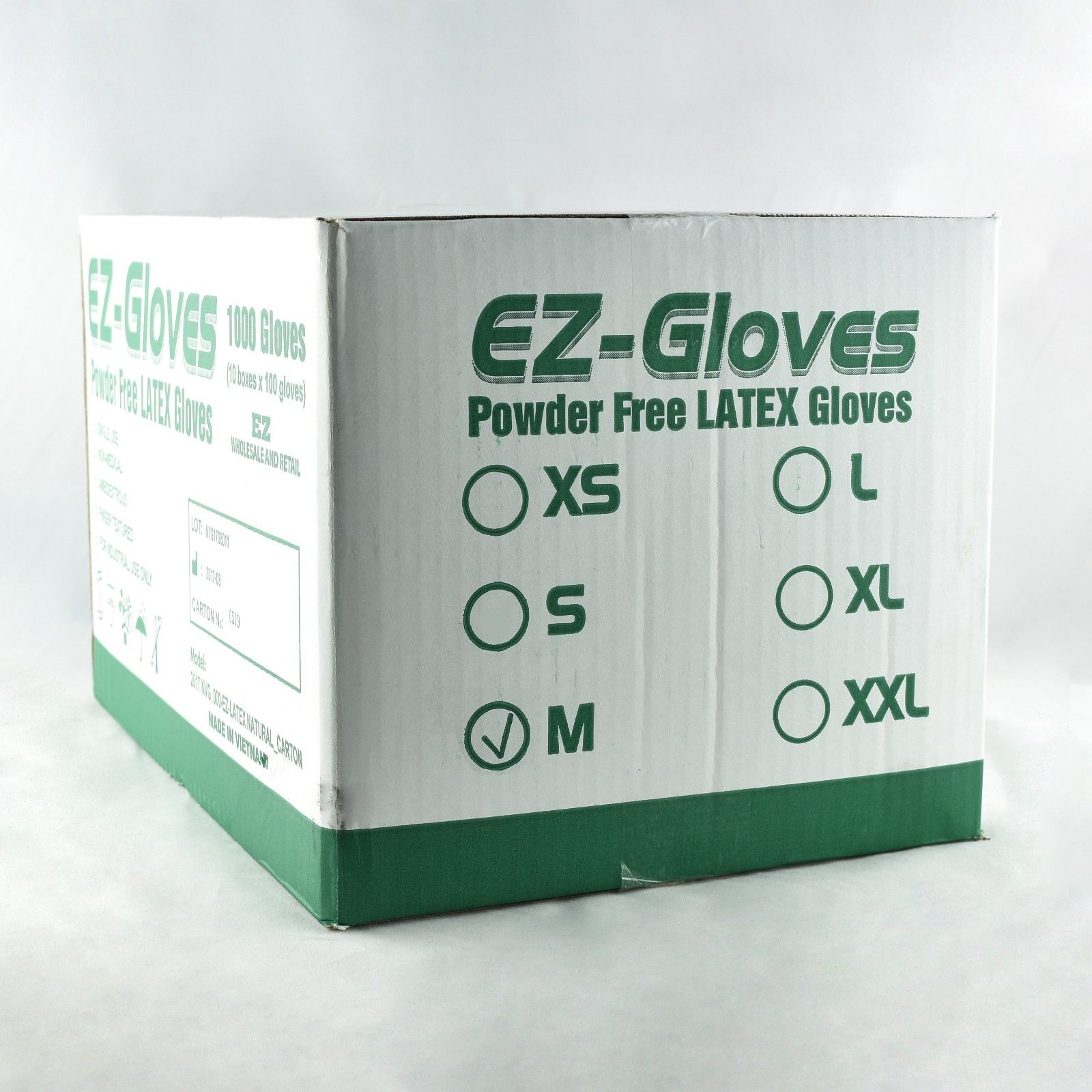 EZ Gloves 1000pcs / 1 case - Natural Color - All Size