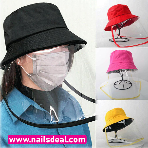 Unisex Protective Outdoor Fisherman Hats (Black, Pink, Red, Yellow)