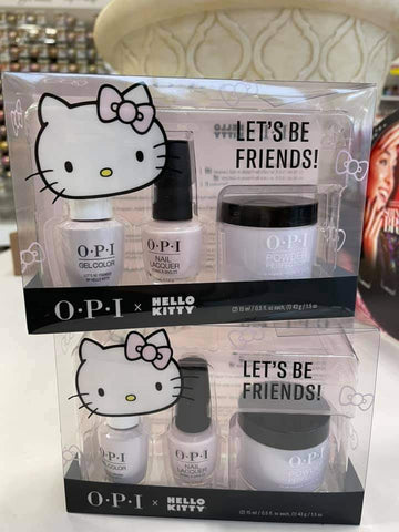 OPI (3in1) - Let's be friends H82 - Dipping Powder, Gel Color, Nail Lacquer Trio Pack