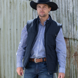 Pure Western Mens Tucker Puffer Jacket - Stylish Outback Clothing