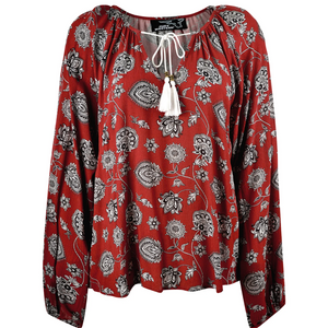 Thomas Cook Comfort Waist Leather Belt - BROWN