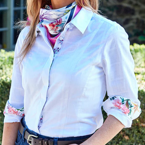 Just Country Mens Diamantina Canvas Vest - CHOCOLATE