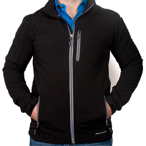 Just Country Mens Geoffrey Softshell Jacket - BLACK - Stylish Outback Clothing