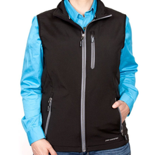 Just Country Womens Francis Softshell Vest - BLACK
