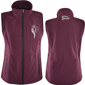 Pure Western Womens Angela Soft Shell Vest