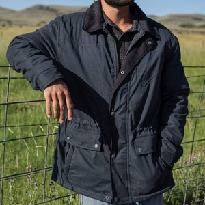 Outback Trading Womens Matilda Oilskin-BURGUNDY - Stylish Outback Clothing