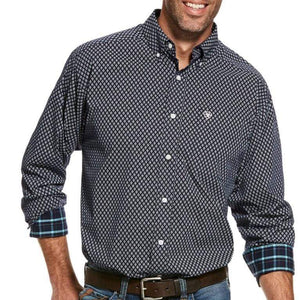Stylish Outback Clothing Brands Ariat Mens Walbeck Classic Print LS Shirt
