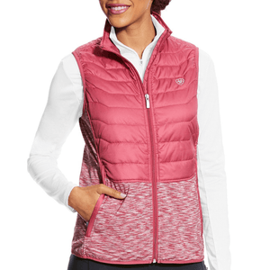 Stylish Outback Clothing Brands Ariat Womens Capistrano Vest - ROSE