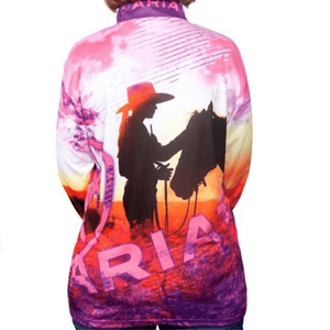 Stylish Outback Clothing Brands Ariat Womens Horse Girl- SUN SHIRT
