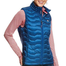 Stylish Outback Clothing Brands Ariat Womens Ideal DOWN Vest- BLUE
