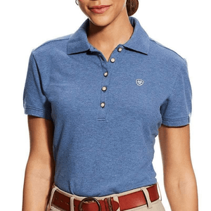 Stylish Outback Clothing Brands Ariat Womens Prix Polo - INDIGO