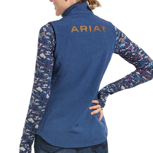 Stylish Outback Clothing Brands Ariat Womens Softshell Vest - BLUE
