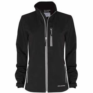 Stylish Outback Clothing Brands Just Country Womens Francis Softshell Jacket - BLACK