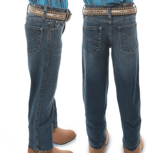 Pure Western Boys Archie Jean-PRE-WASHED-Regular Fit - Stylish Outback Clothing