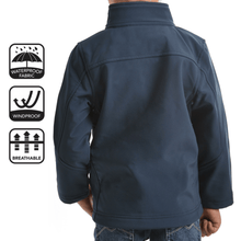 Pure Western Boys Softshell Waterproof Jacket - Stylish Outback Clothing