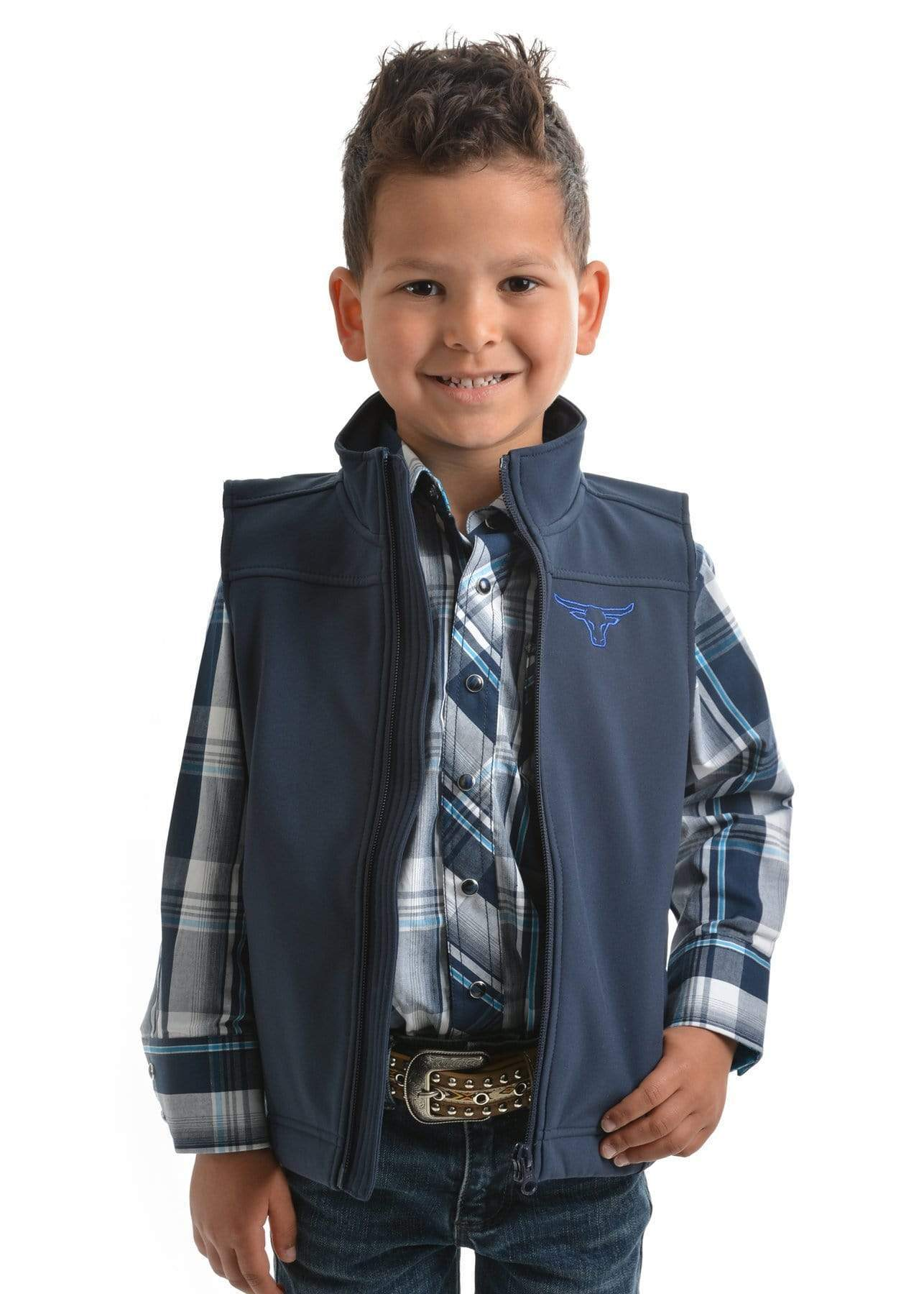 Stylish Outback Clothing Brands Pure Western Boys Softshell Waterproof VEST