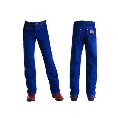 Stylish Outback Clothing Brands Wrangler Kids ProRodeo Adjustable waist Jean-PRE WASHED INDIGO SLIM 8-16