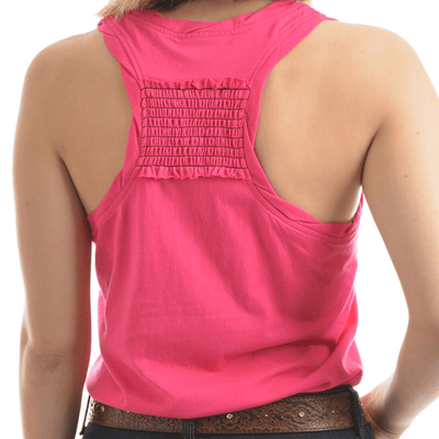 Stylish Outback Clothing Brands Wrangler Womens Cassie Singlet Top PINK