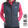 Stylish Outback Clothing Brands Wrangler Womens Logo Softshell Vest- XCP2671212