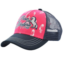 Stylish Outback Clothing Mens Pure Western Girls Lucy Trucker Cap - PINK