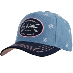 Stylish Outback Clothing Mens Pure Western Womens Pixie Cap - DENIM