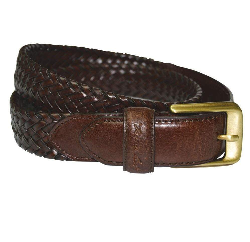Stylish Outback Clothing Mens Thomas Cook Harry Braided Leather Belt
