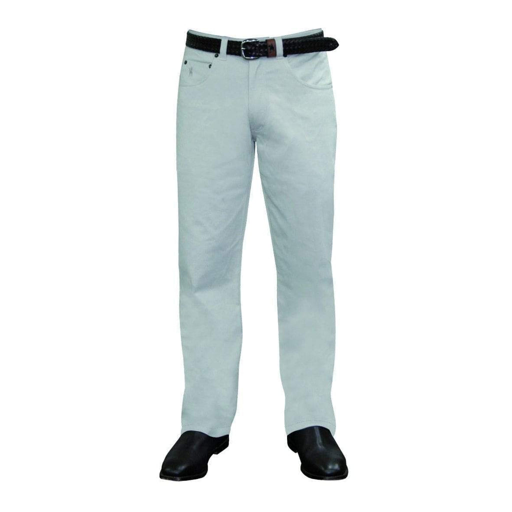 Stylish Outback Clothing Mens Thomas Cook Mens Comfort Waist Moleskin Pants-Mid-Reg-Straight STONE