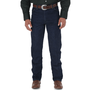 "Stylish Outback Clothing Mens Wrangler Mens Cowboy Cut STRETCH Reg Fit Jean 32"" LEG"