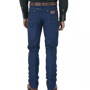 "Stylish Outback Clothing Mens Wrangler Mens Cowboy Cut STRETCH Reg Fit Jean 34"" LEG"