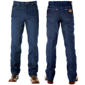 "Stylish Outback Clothing Mens Wrangler Mens Original Fit-PRE WASHED INDIGO 36"" Leg - 13MWZPW"