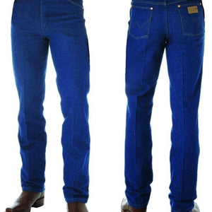 "vendor-unknown Mens 32"" / 27 (allow 2-4 Business days to Shipping) Wrangler Mens Slim Fit Jean-PRE WASHED INDIGO 32"" Leg - 0936PWD"