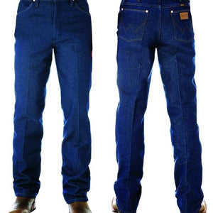 "vendor-unknown Mens 36"" (Allow 2-5 Business Days to Shipping) / 28 Wrangler Mens SLIM Fit Jean-RIGID INDIGO- 36"" Leg- 0936DEN"