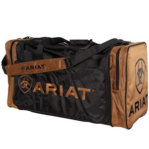 Stylish Outback Clothing Womens Ariat large Gear Bag - BROWN & BLACK