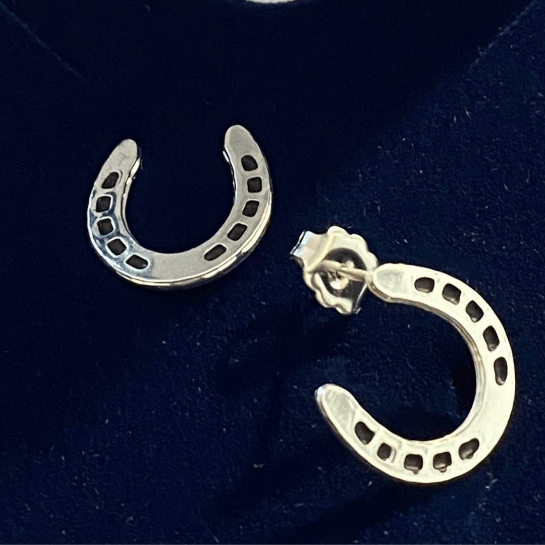 Stylish Outback Clothing Womens Montana Silversmiths- Small Horseshoe Earrings