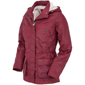 Stylish Outback Clothing Womens Outback Trading Womens Adelaide Berber-Lined Jacket-BERRY