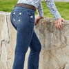 "Stylish Outback Clothing Womens Pure Western Womens Amber Bootcut Jean 34"" only"