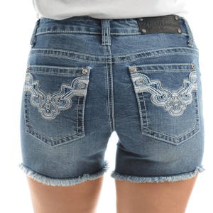Stylish Outback Clothing Womens Pure Western Womens Asha Denim Shorts