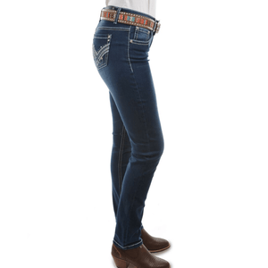 "Stylish Outback Clothing Womens Pure Western Womens Harlee Skinny 32"" leg Jean- PCP2201018"