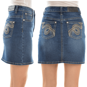 Stylish Outback Clothing Womens Pure Western Womens Hope Denim Skirt