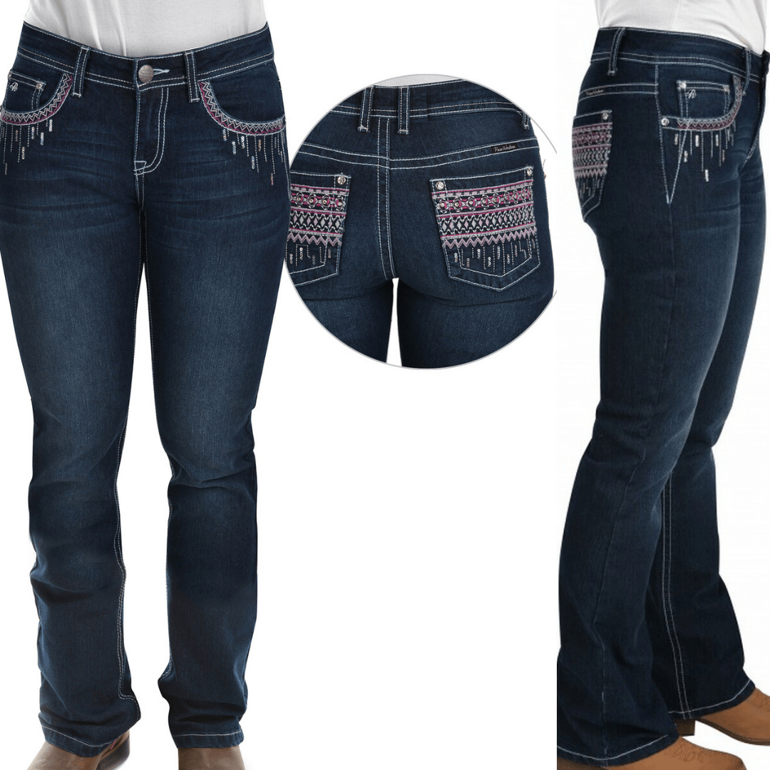 "Stylish Outback Clothing Womens Pure Western Womens Shawna Bootcut Jeans-32"" Leg only"
