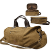 Stylish Outback Clothing Womens Thomas Cook Canvas Duffle & Wash Bag Combo - BROWN