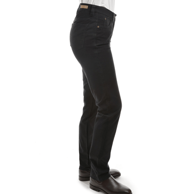 Stylish Outback Clothing Womens Thomas Cook Womens Stretch Moleskin Wonder Jean Slim Leg -BLACK-TCP2228007